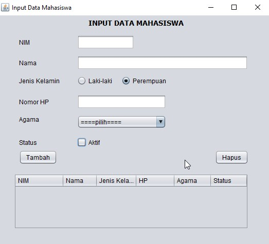 hasil-gui-ScreenHapusDataMhs