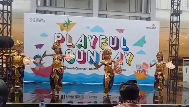 Playfull Sunday Performance: Tari Kupu Kupu Tarum