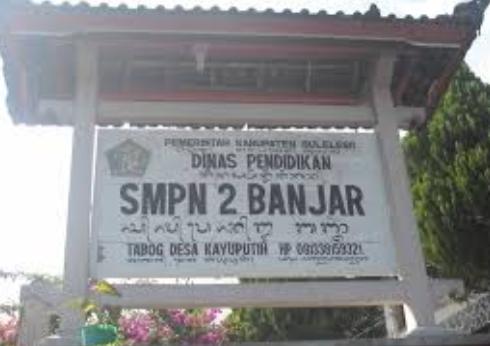 SMP Negeri 2 Banjar di Tabog