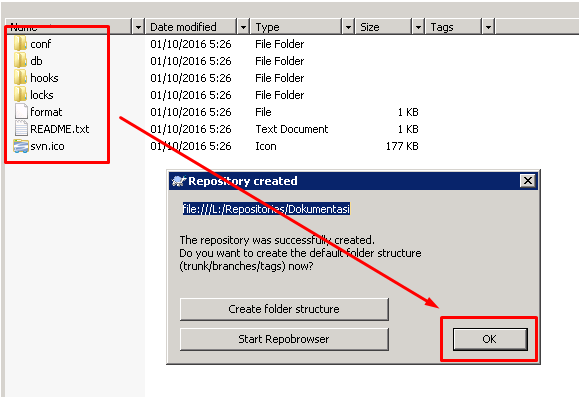 Folder standar
