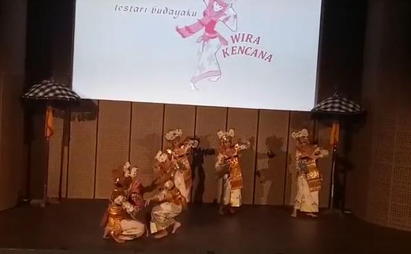Pentas Tari Palegongan Abimanyu  di Galeri Indonesia Kaya