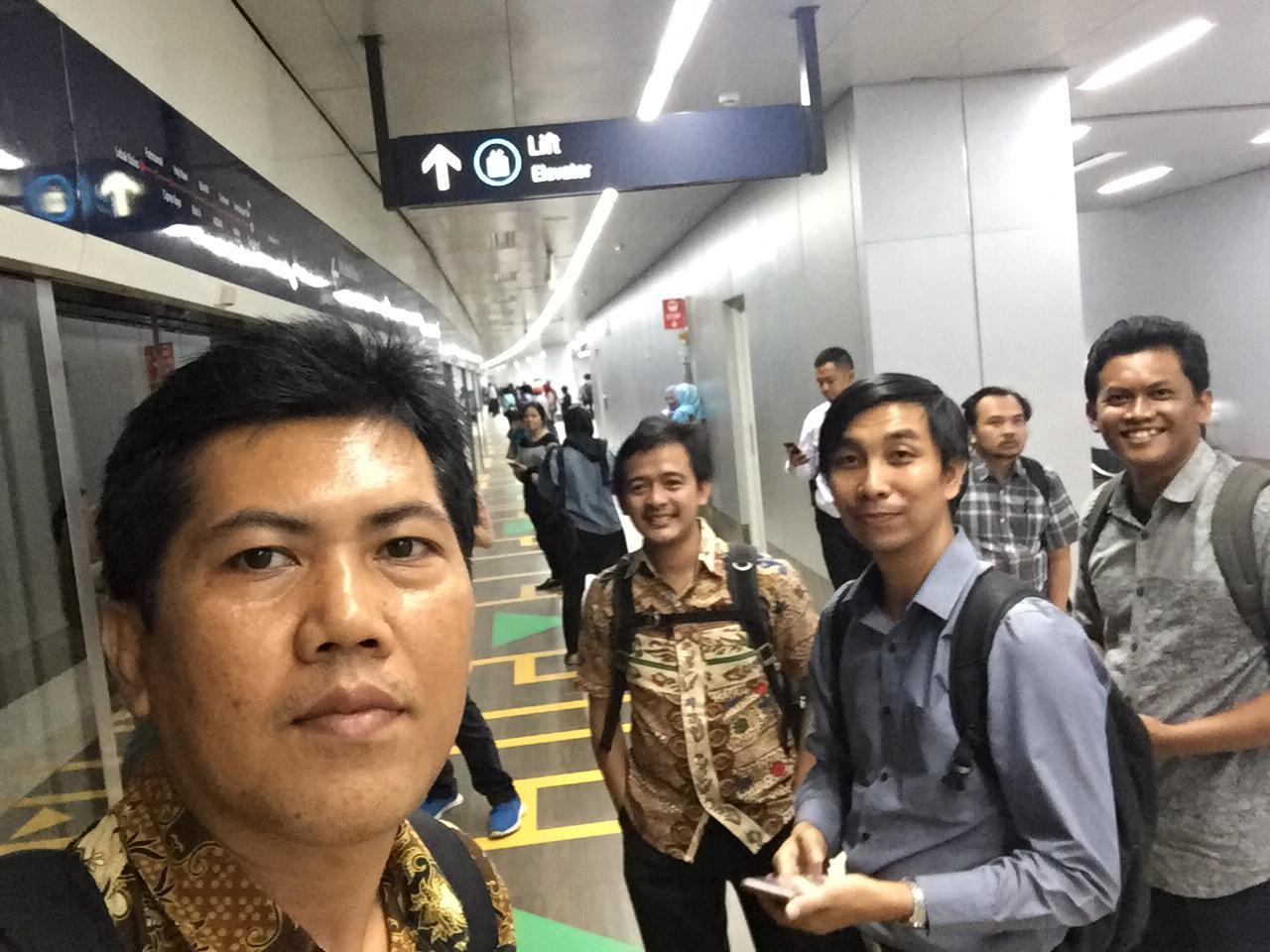 Uji Coba Naik MRT
