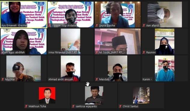 PKM Online STMIK Eresha, Gelar Workshop PJJ di SMPIT Rahmatuttoyyibah Al Iflahah